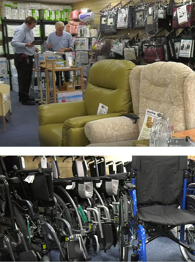 Mobility Equipment in Christchurch, Dorset